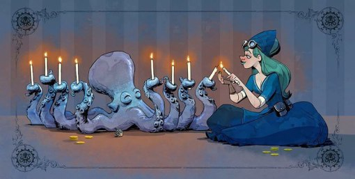 octopus-otto-and-victoria-steampunk-illustrations-walt-disney-brian-kesinger-15